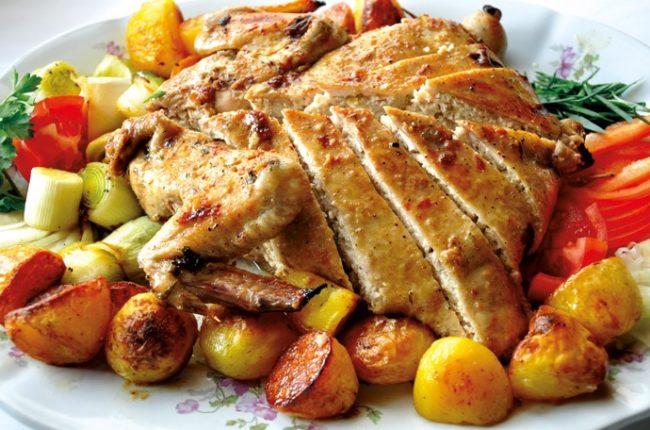 Рецепт фаршированная куриная кожа