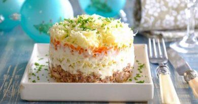 Салат «Мимоза». 7 простых и вкусных классических рецептов