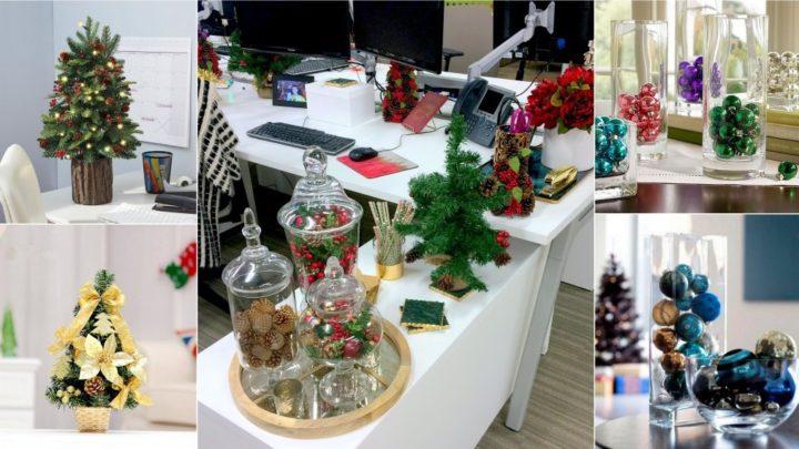 Новогодний декор офиса своими руками идеи. Варианты новогоднего украшения офиса своими руками