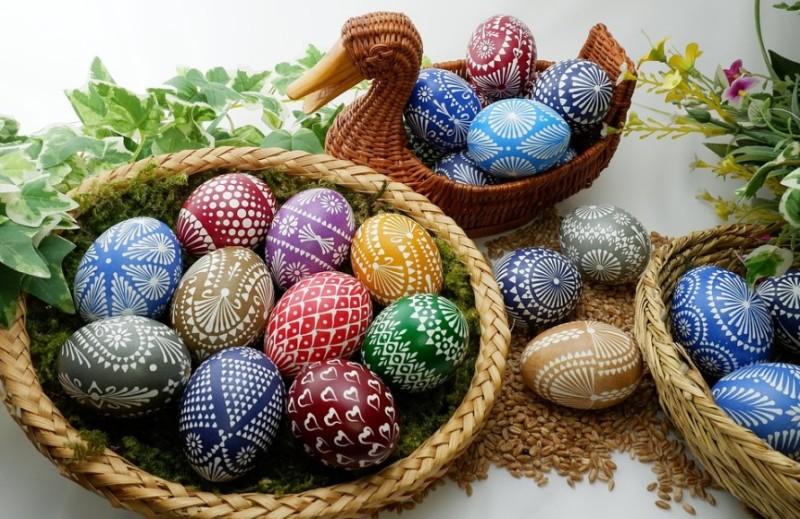 Как красиво покрасить яйца на Пасху 2018 своими руками— 20 оригинальных способов