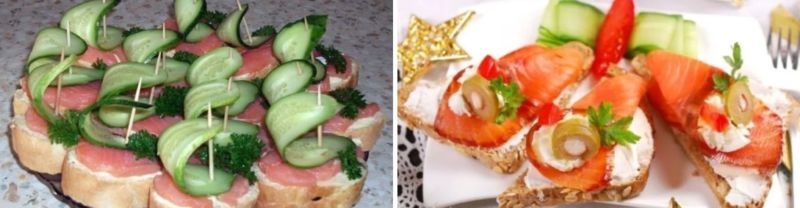 Бутерброды с соленой горбушей и творожным сыром - рецепт пошаговый с фото
