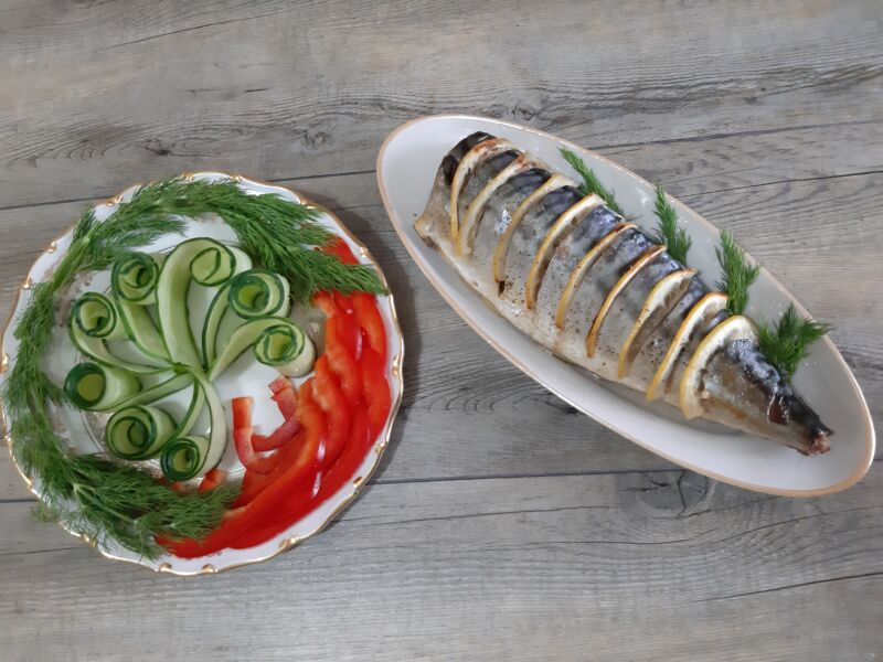 Рыба с лимоном в духовке, быстро и вкусно