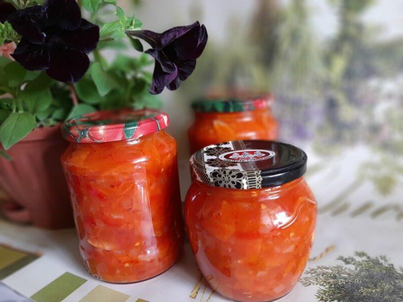Лечо из помидор, перца, моркови и лука — лучшие рецепты лечо на зиму