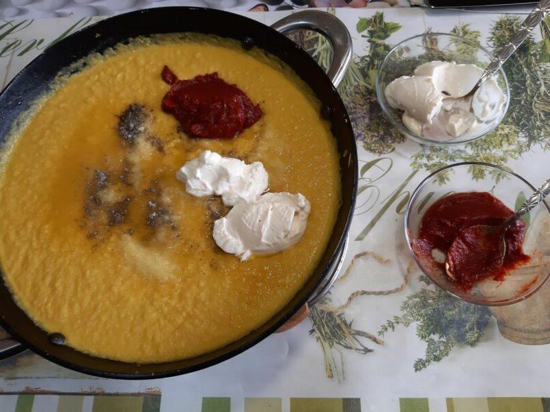 Икра кабачковая с майонезом и томатной пастой на зиму - рецепт пошаговый с фото
