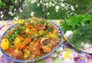 Мясо с овощами в казане — пошаговый рецепт готовки на костре