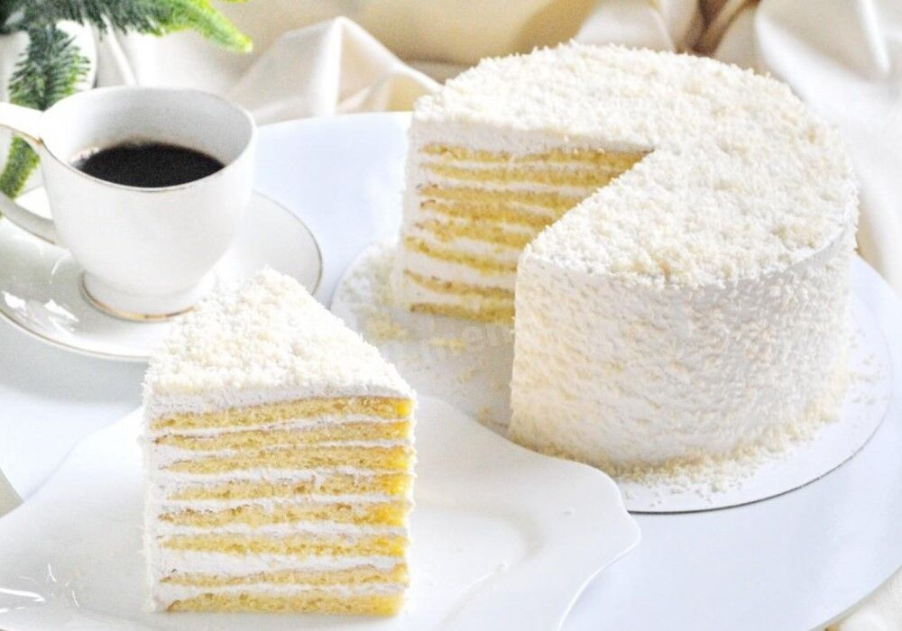 Очень вкусный торт молочная девочка